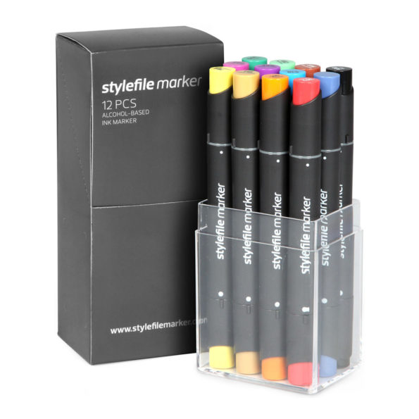 Stylefile Marker Classic 12 set Main A